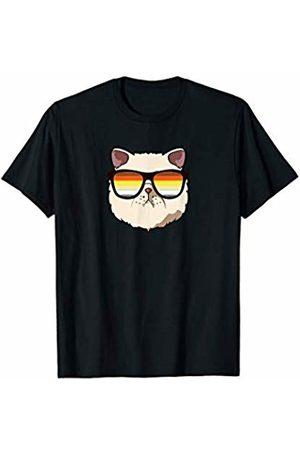 LGBT Flag Exotic Shorthair by Mezziteez Exotic Shorthair Cat Mom Sunglasses
