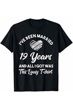 Medotukito Women Shirts - 19th Wedding Anniversary Gift and All I Got Was This Shirt