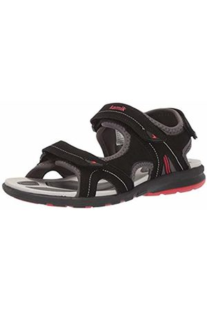 Kamik Women's Clearlake Ankle Strap Sandals, ( BLK)