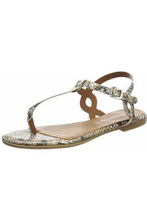 Tamaris Women's 1-1-28094-32 Flip Flops, ( Snake 449)