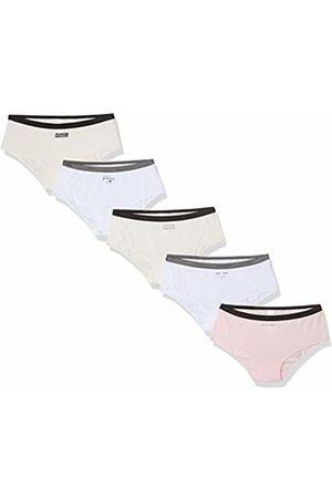 Dim Women's Boxer LES Pockets Coton X5 Panties