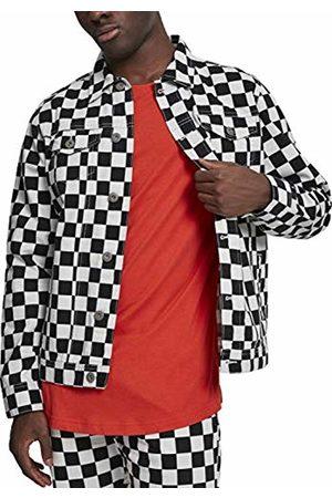 Urban classics Men's Check Twill Jacket (Chess 01683)