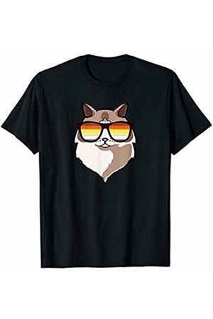 LGBT Flag Ragdoll by Mezziteez Ragdoll Cat Sunglasses