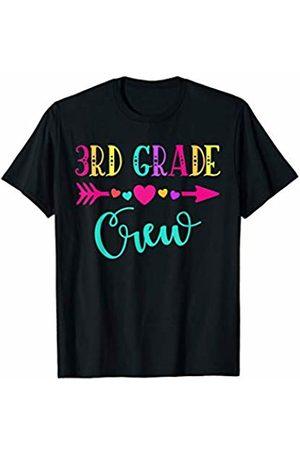 First Day of School Teacher Gift Shirt 2019 3rd Grade Teacher Shirt | First Day School Third Grade Crew T-Shirt
