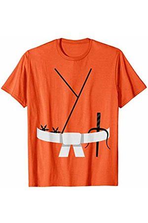 Funny Halloween Designs by FunJDesign Cool Design White Belt Karate Custome Halloween T-Shirt