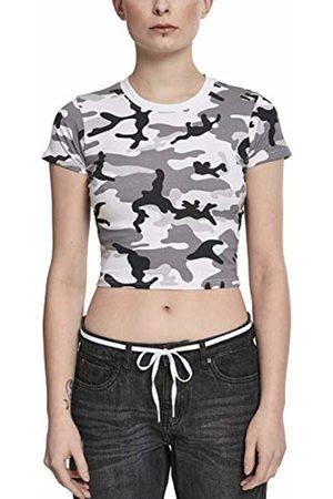 Urban classics Women's Ladies Stretch Jersey Cropped Tee T-Shirt