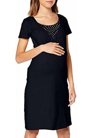 Noppies Women's Dress Nurs Ss Suzy Solid Maternity Nightie