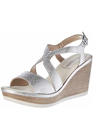 Inblu Women's Ikebana Ankle Strap Sandals
