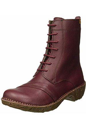 El Naturalista Women's Ng57 Soft Grain Rioja/Yggdrasil Ankle Boots