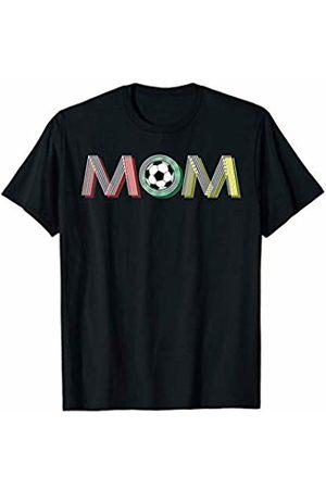Hadley Designs Vintage Retro Soccer Mom Life Christmas Gift Funny Cute T-Shirt