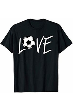Hadley Designs Love Soccer Ball Mom for Mother Birthday Gift Funny Crazy T-Shirt