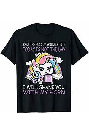 Unicorns Sprinkle Tits Funny Quotes Unicorn Humor Gift T-Shirt