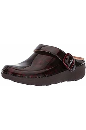 FitFlop Women's Gogh Pro Superlight Tortoiseshell Clogs, (Chocolate Turtle 690)