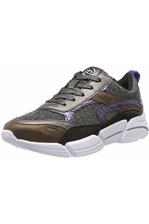 Bugatti Women's 432668015959 Low-Top Sneakers, (Metallic/Dark 9011)