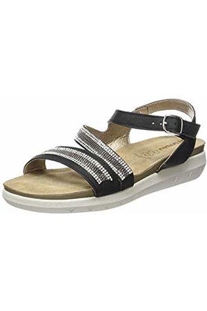 Inblu Women's Montepulciano Ankle Strap Sandals