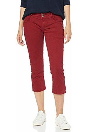 Street one Women's 372237 Crissi Slim Jeans, (Wine Washed 11904)