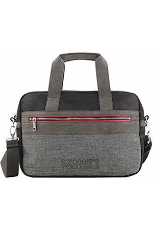 Coronel Tapiocca Red Men's Laptop Bag, (Negro)