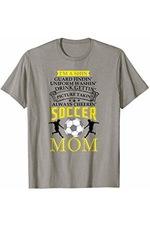 Hadley Designs Uniform Washin drink Gettin Picture Takin Cheerin Soccer Mom T-Shirt