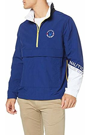 Nautica Men's LT WT. BLUESAIL Pullover Track Jacket, Depths 41H