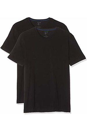 Nur Der Men's 2er T-Shirt Xemp Rundhals Sports Underwear, ( Schwarz)