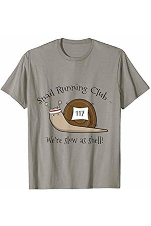 Awesome Snail Running T-Shirts Snail Running Club We're Slow As Shell Funny Snail T Shirt
