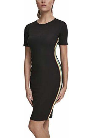 Urban classics Women's Ladies Multicolor Side Taped Dress ( 00007)