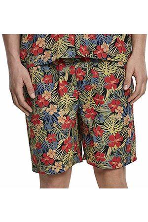 Urban classics Men's Pattern Resort Shorts Swim Trunks