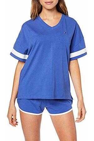 Tommy Hilfiger Women's Short Set SS Pyjama, Ultramarine/Deep Utramarine 462