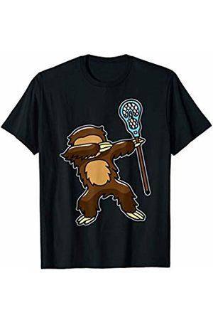 BoredKoalas Sport Lover Clothes Athlete Gift Dabbing Sloth Lacrosse Funny Dab Dance Animal Sport Gift T-Shirt