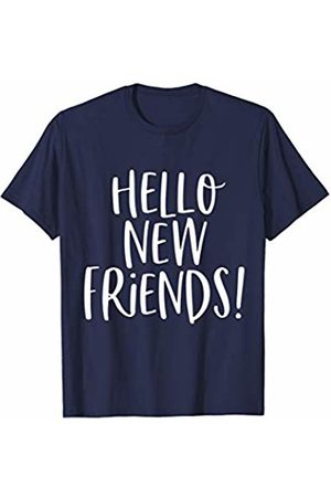 Back to School Gifts and Apparel Cute Back to School Shirt Hello New Friends First Day Gift T-Shirt