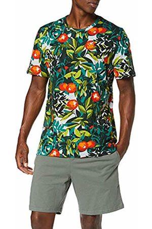 Hom Men's Tangerine Short Sleepwear Pyjama Set