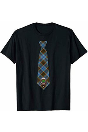 Our Family Name-Anderson Clan Merchandise Anderson Tartan Necktie & Clan Badge T-Shirt