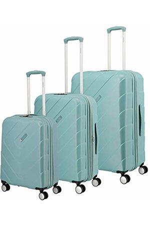 """Elite Models' Fashion """"kalisto"""" Hardshell Suitcase Range from in 4 Colours: Fashionable, Elegant, Robust Suitcase Set, 76 cm, Luggage Set, 074440-25, Turquoise"""