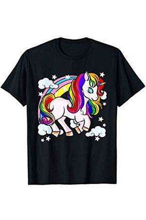 Cute Unicorns Rainbows Unicorn Gifts Cute Unicorns Rainbows Unicorn Gift Girl Women T-Shirt