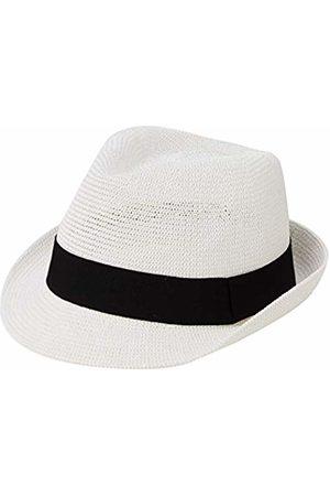 Mount Hood Bilbao Trilby Hat, Weiß)