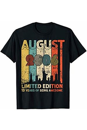 Vintage August 2006 Shirt 13th Birthday Gift 13 Year Old Tee