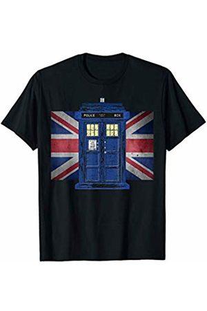 EDDArt Police Public Call Box - Exclusive Retro 4 Fan Fun T-Shirt