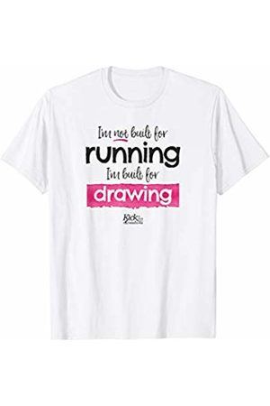 Kick in the Creatives Artist Shirt I'm not built for running I'm built for drawing