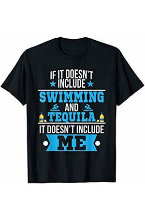 Funny Tequila Tees Doesn't Involve Swimming & Tequila Sports Fan T-Shirt