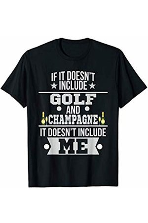 Cool Champagne Tees Doesn't Involve Golf & Champagne Sports Fan T-Shirt