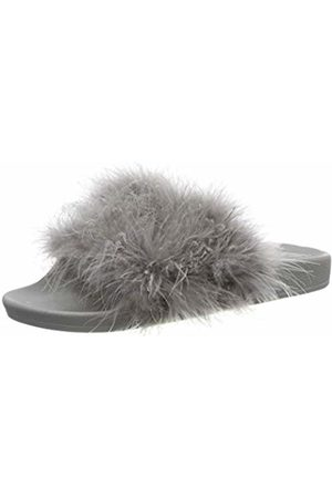 THE WHITE BRAND Women's Feather Open Toe Sandals