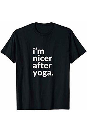 Yoga Tees I'm nicer after yoga. T-Shirt