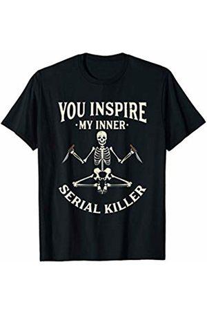 Serial Killer Gifts & Sarcastic Yoga Shirts Men T-shirts - Funny yoga tee shirts