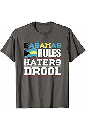 Cool Bahamas Tees Bahamas Rules Haters Drool Nationality T-Shirt