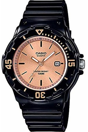 Casio Womens Analogue Quartz Watch with Resin Strap LRW-200H-9E2VEF
