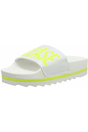 THE WHITE BRAND Women's Beach Fluor Open Toe Sandals