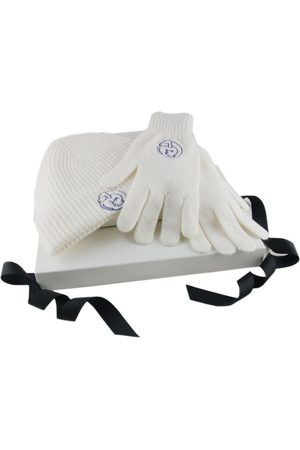 Black Corporate Branded Beanie and Gloves Set