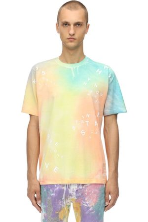 KLSH - KIDS LOVE STAIN HANDS Tie Dye Printed Cotton Jersey T-shirt