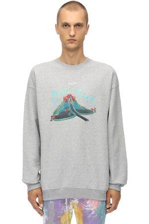 KLSH - KIDS LOVE STAIN HANDS Crewneck Cotton Jersey Sweatshirt