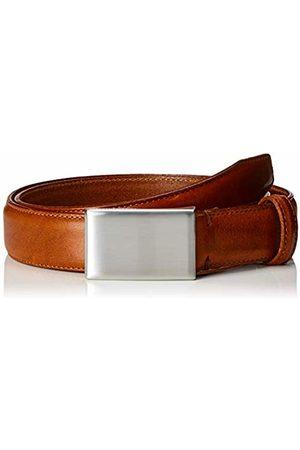 Selected Homme NOS Men's Slhfillip Formal Plate Belt Noos B, Cognac